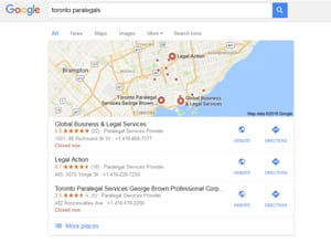 More Google Reviews means better placement on the Google Map and higher organic rankings.